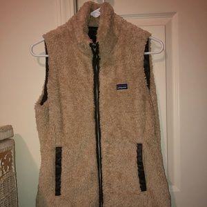Women's Patagonia reversible vest.